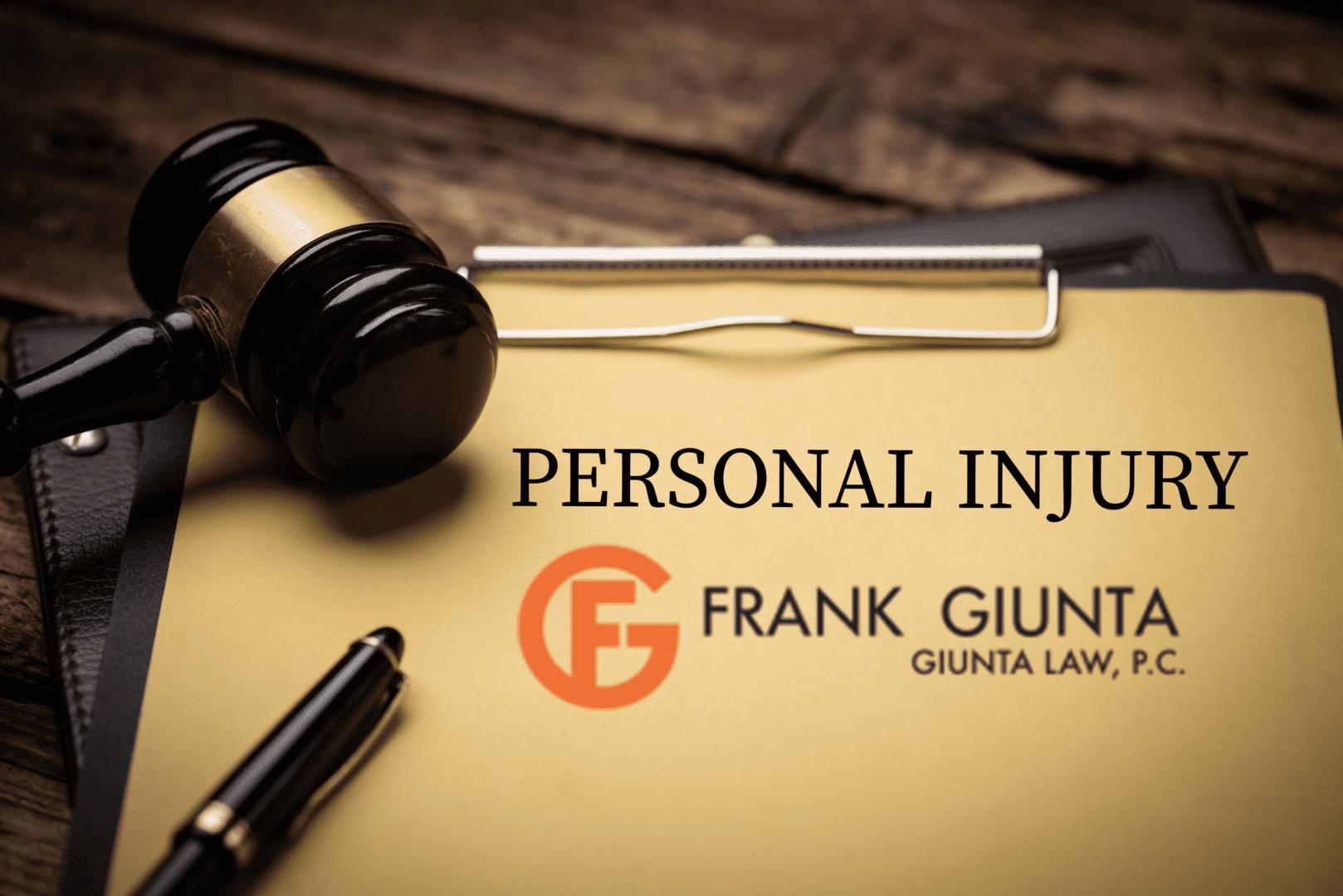 Frank Giunta personal injury law blog