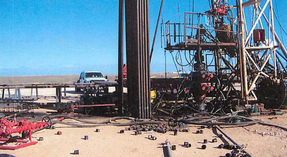 oil field explosion
