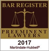 bar register preeminent lawyer martindale hubbell