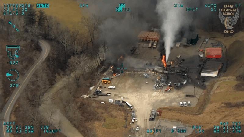 Fracking accident explosion