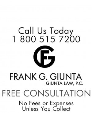 Call Frank Giunta Law for free consultation