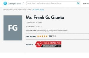 Attorney Frank Giunta profile at Lawyers.com