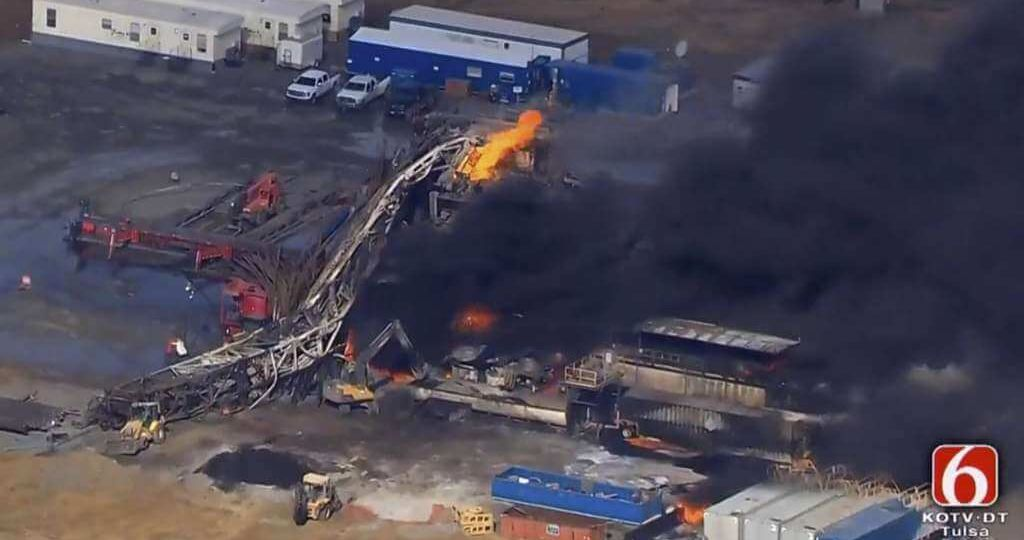 oil rig explosion ok